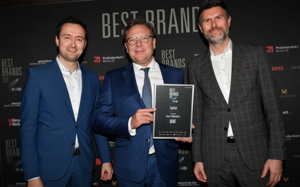 Best Brands Award für WMF