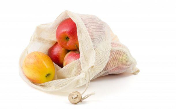 Umweltfreundliche Brot- und Gemüsebeutel