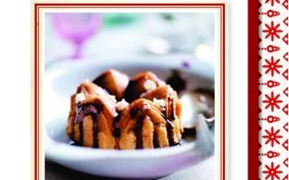 Parragon_Weihnachtsbuch mit Mini-Kuchen