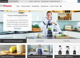 Vitamix Website