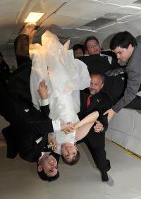 Hochzeit über Kopf