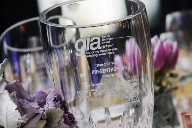 gia award on table